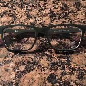 RayBan frames - green